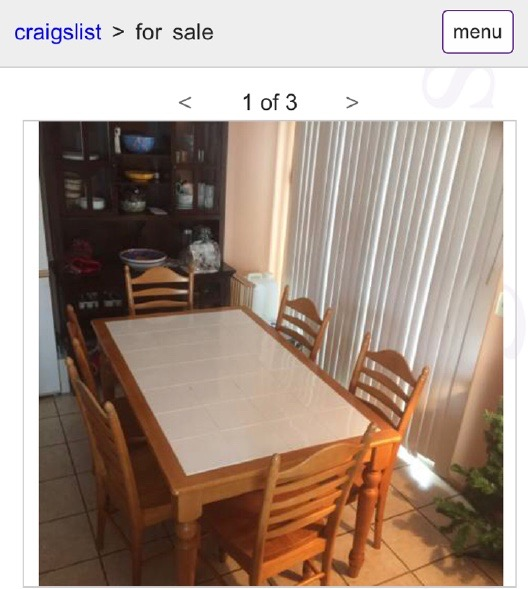 DIY Kitchen Table1