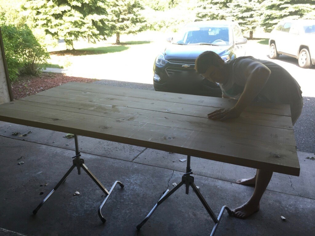 DIY Kitchen Table10