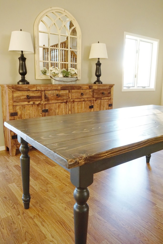 DIY Kitchen Table11