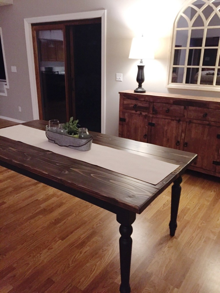 DIY Kitchen Table13