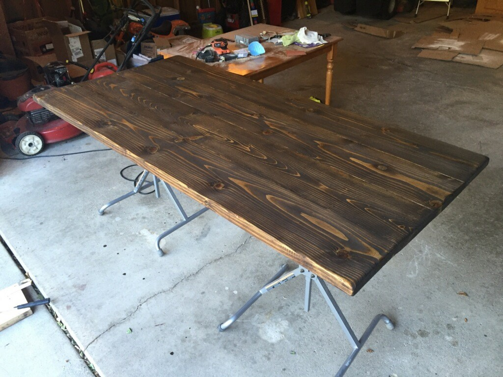 DIY Kitchen Table6